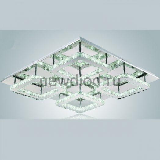 Хрустальная светодиодная люстра 95Вт DW-8719