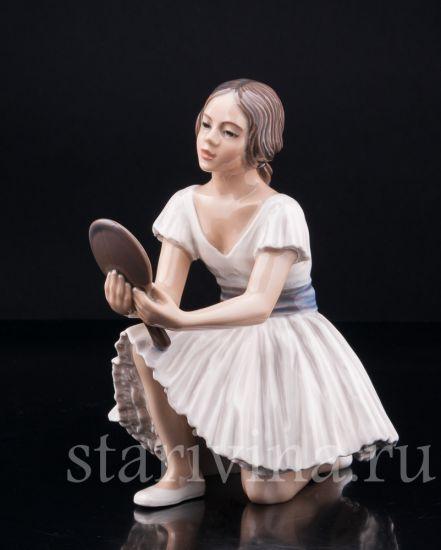 Изображение Балерина с зеркалом, Dahl Jensen, Дания, сер. 20 в