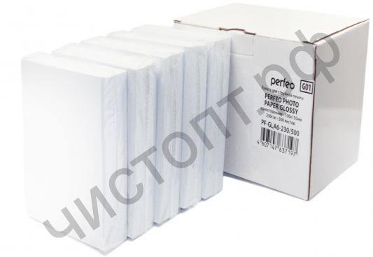 PERFEO 10x15 230 г/м2 глянец 500 лист. (PF-GLA6-230/500) (G01)