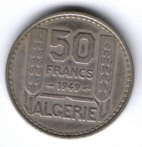 50 франков 1949 г. Алжир