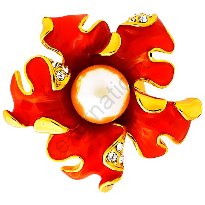 Кольцо Laetitia Moreau 39425-1745. Кольцо Цветок