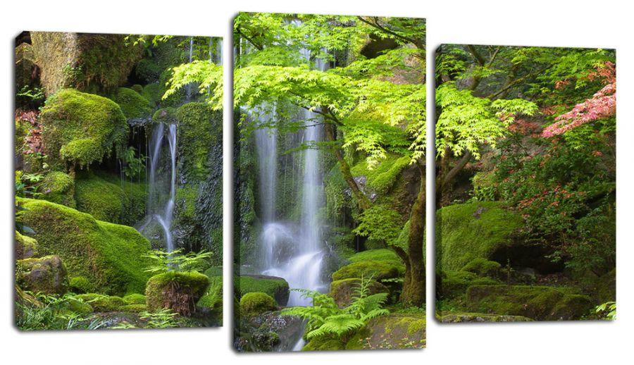 Модульная картина Райский лес
