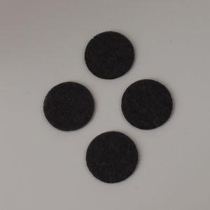 Фетровые пяточки 40мм, цвет № 55 темно-серый