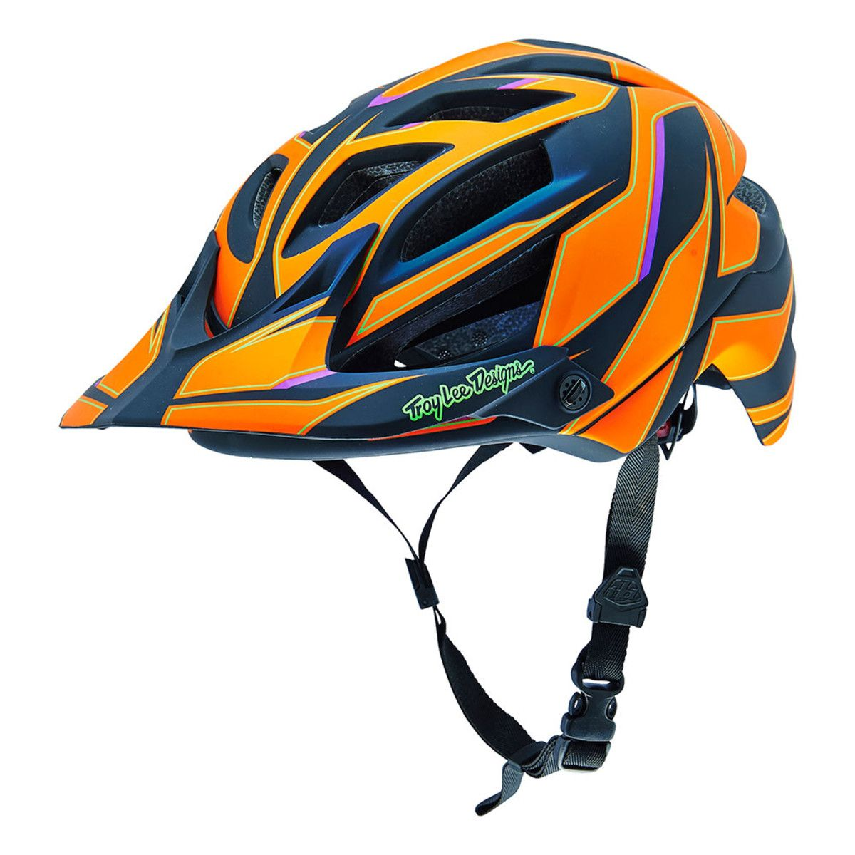 Troy Lee Designs A1 REFLEX orange