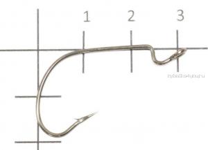 Крючок офсетный Yoshi Onyx Offset Hook (BN), BIG EYE WITH SPRING, с пружинкой (упак. 5шт.)