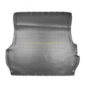 """Ковер в багажник  полиуретановый с бортиком 5 мест """"Черный. Бежевый. Серый"""" для Lexus LX"""