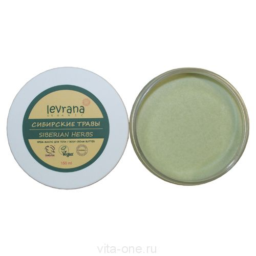 Крем-масло Сибирские травы Levrana (Леврана) 150 мл