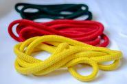 Верёвка цветная (х/б) без сердечника - 10мм (1 метр) - цвета в ассортименте