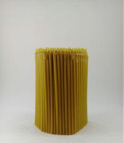Свечи церковные восковые № 120, 1 кг. Длина 16 см, диаметр 5,5 мм. 300 штук/пачка