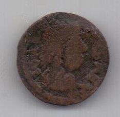 1 солид 1666 г. Литва. Польша