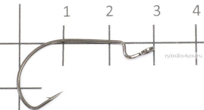 Купить Крючок офсетный Yoshi Onyx Offset Hook Long (BN), BIG EYE (упак. 10шт.)