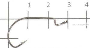 Крючок офсетный Yoshi Onyx Offset Hook Long  (BN), BIG EYE (упак. 10шт.)