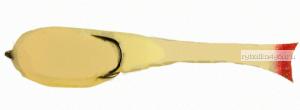 Поролоновая рыбка OnlySpin Bait 80 мм / упаковка 5 шт / цвет: белый