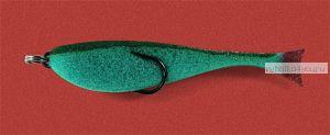 Поролоновая рыбка OnlySpin Bait 95 мм / упаковка 5 шт / цвет: зеленый