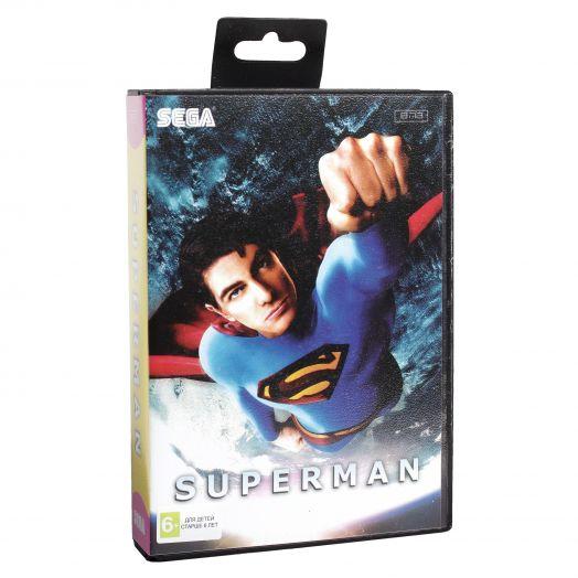 Sega картридж SUPER-MAN