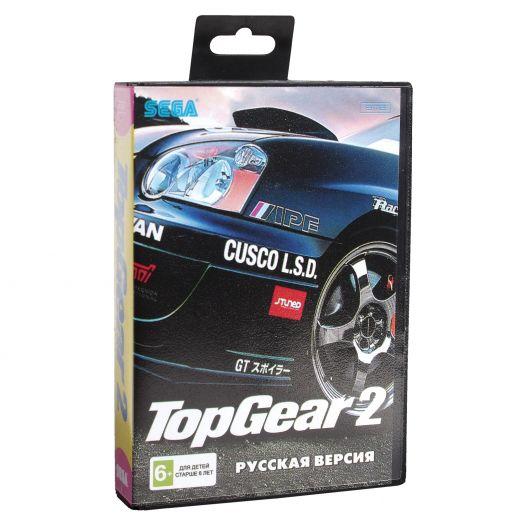 Sega картридж TOP GEAR 2