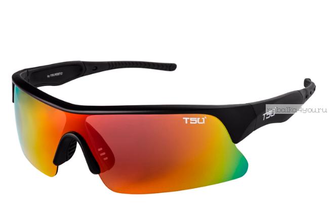 Купить Очки поляризационные Tsuribito TSU' REVO красные радужные линзы, в мягком мешочке SA0655