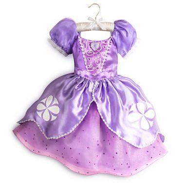 Костюм платье Принцессы Софии Дисней