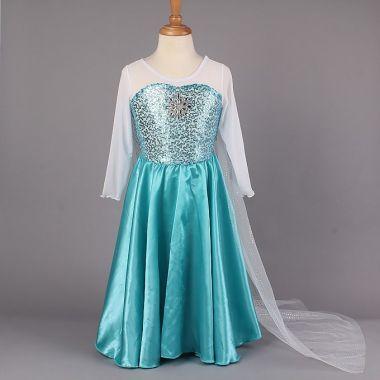 Платье Эльза Холодное сердце 130 размер на 120 рост