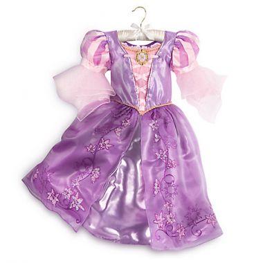 Платье костюм Рапунцель Дисней