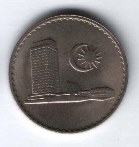 50 сен 1967 г. UNC Малайзия