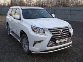 Защита переднего бампера 60 мм для Lexus GX 2013 -