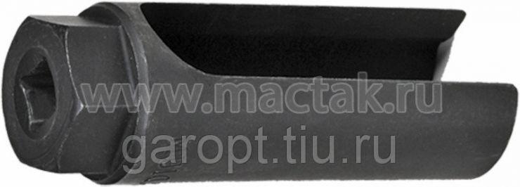 Головка для кислородных датчиков, 22 мм, разрезная, глубокая МАСТАК 103-60422