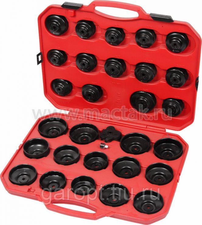 Набор съёмников масляных фильтров, 30 предметов МАСТАК 103-40030C