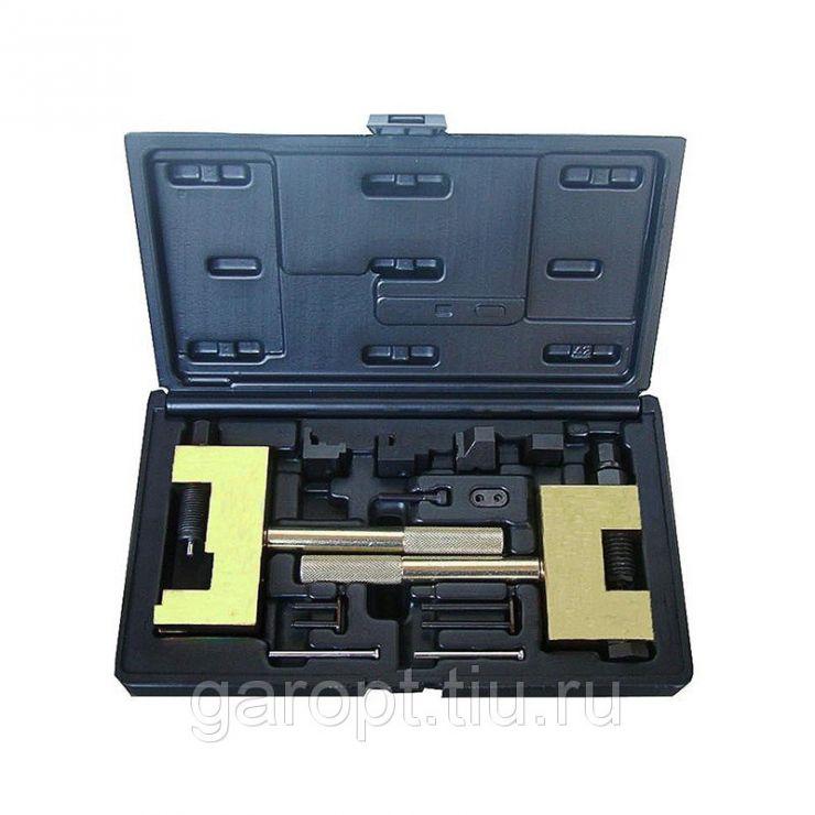 Набор для соединения и разъединения звеньев цепи ГРМ MB, кейс, 13 предметов МАСТАК 103-22013C