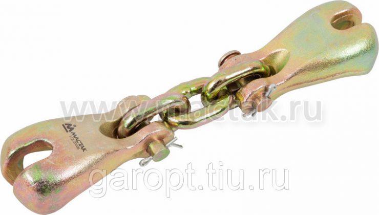 Крюки рихтовочные, 6 т, сдвоенные МАСТАК 113-20006