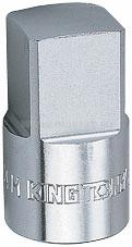 """Насадка торцевая 1/2"""", 8 мм, четырехгранная KING TONY 401408M"""