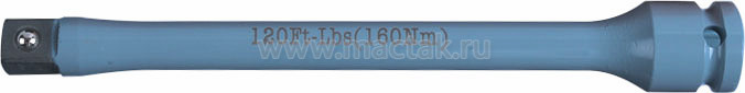 """Удлинитель торсионный 1/2"""", 195 мм, с ограничителем крутящего момента 160 Нм KING TONY 4269-08-G0"""