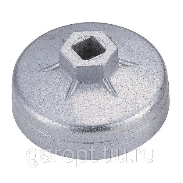 Съёмник масляных фильтров, 75 мм, 15 граней, торцевой МАСТАК 103-44155