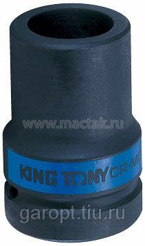 "Головка торцевая глубокая ударная четырехгранная 1"", 17 мм, футорочная KING TONY 853417M"