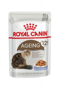 Роял канин Эйджинг +12 в желе пауч (Ageing +12 Jelly) 85г.