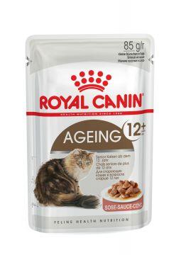 Роял канин Эйджинг +12 в соусе пауч (Ageing +12 Gravy) 85г.
