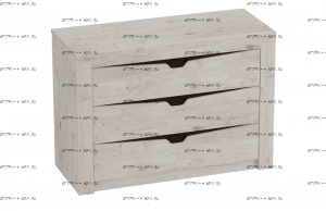 Комод Соренто (107х44х75) (Спальня)