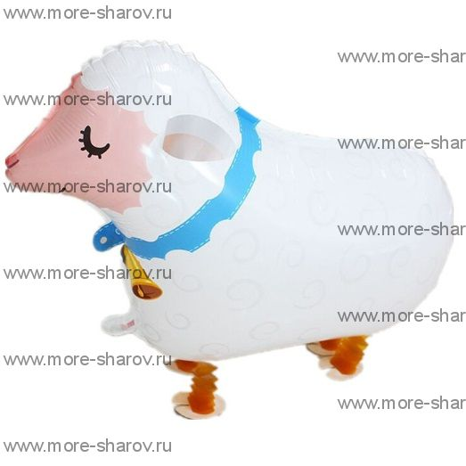 Шар-ходячка овечка 69 см