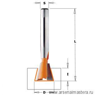 CMT 918.129.11 Фреза ласточкин хвост 8гр. S8 D12,7x21