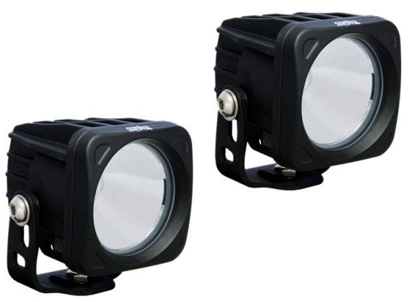 Комплект Светодиодных фар (2шт.) Optimus: XIL-OP120 черный