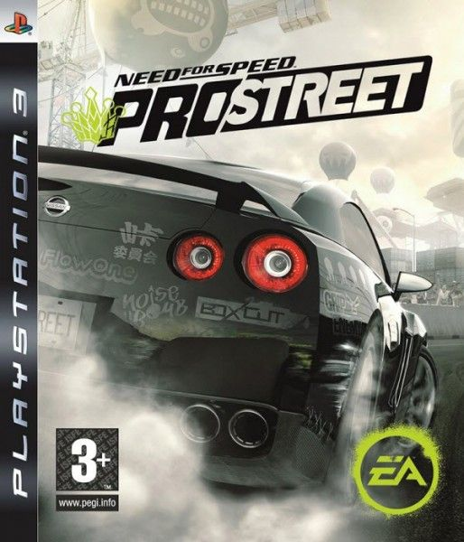 Игра Need for speed pro street (PS3)