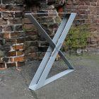 Опора стола из стальной полосы