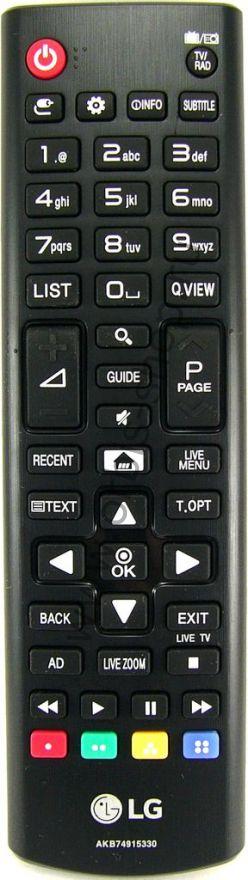 Пульт LG AKB74915330