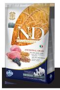 N&D Dog Low Grain Lamb & Blueberry Medium Adult Низкозерновой корм для взрослых собак Ягненок/черника (2,5 кг)