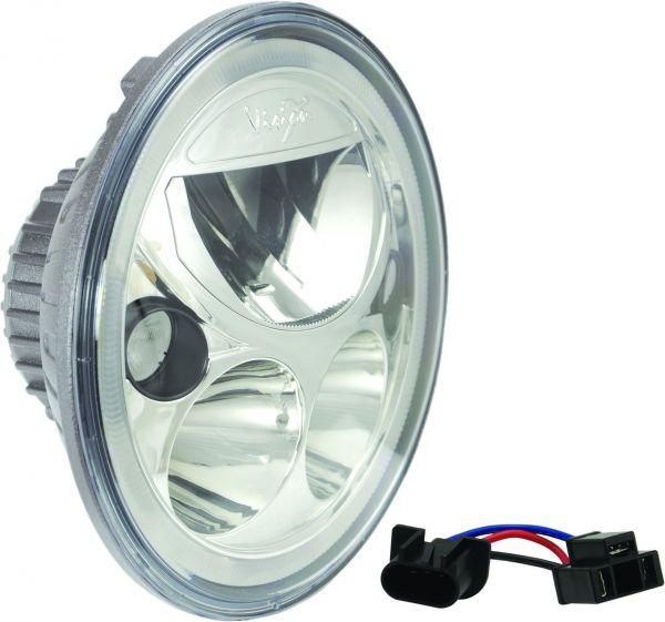 Светодиодная фара головного света Prolight Vortex XIL-7RD полированный хром