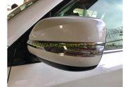 Хромированные накладки на зеркала (Тип 1) для Lexus LX 2015 -
