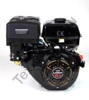 Lifan 190F D25 (15 л. с.) с катушкой освещения 7Ампер (84Вт) четырехтактный бензиновый двигатель в стандартной комплектации, мощностью 15 л. с., и диаметром выходного вала 25 мм.
