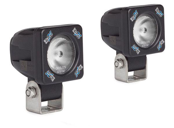 Комплект светодиодных фар рабочего света Solstice Prime: XIL-S160 black