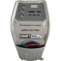 Станция автоматическая для заправки автомобильных кондиционеров с принтером KraftWell
