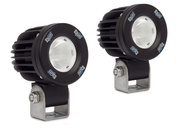 Комплект светодиодных фар черного цвета Solstice Prime: XIL-SP1E